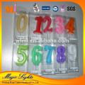 Velas de parafina de parafina de diseño único de alta calidad