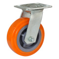 Rollerblade Fixed PU Flat Caster Motorcycle Wheels