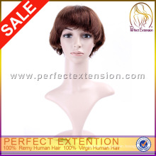 New Style Tina Turner Strawberry Blonde Pure Human Hair Wigs