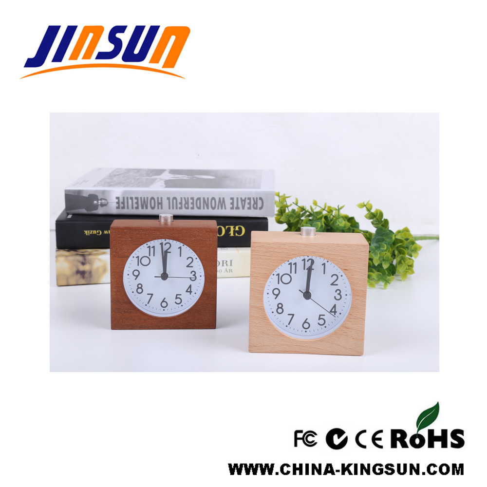Quartz Clock Wood