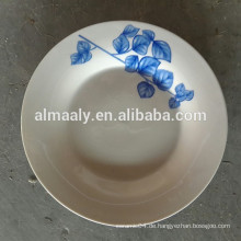 Porzellansuppe / Abendessen Platte