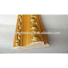 Goldener Rahmenrahmen, Kreuzstichrahmen Bilderrahmen Linien