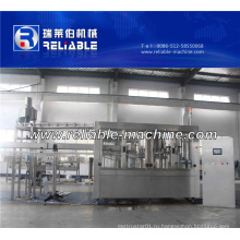 Полная Бутылка Минеральной Воды Производственный Процесс Завода Машины