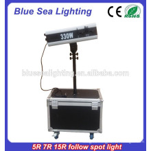 Hand operate 7R 230W wedding show Theater follow Spot light