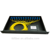 Opn 1*16 plc fiber optic cable splitter cassette