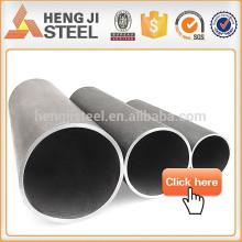 Tubos de acero soldado con soldadura redonda negra / tubos soldados con resistencia eléctrica