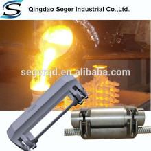 Producto de fundición de inversión Protección de abrazadera de línea de control de cable de pozo de trabajo de aceite