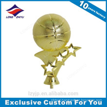 Wholesale High Quality Metal Material Basketball Award Trophy