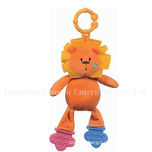 Fábrica de abastecimento de bebê Stuffed Plush Teether Toy