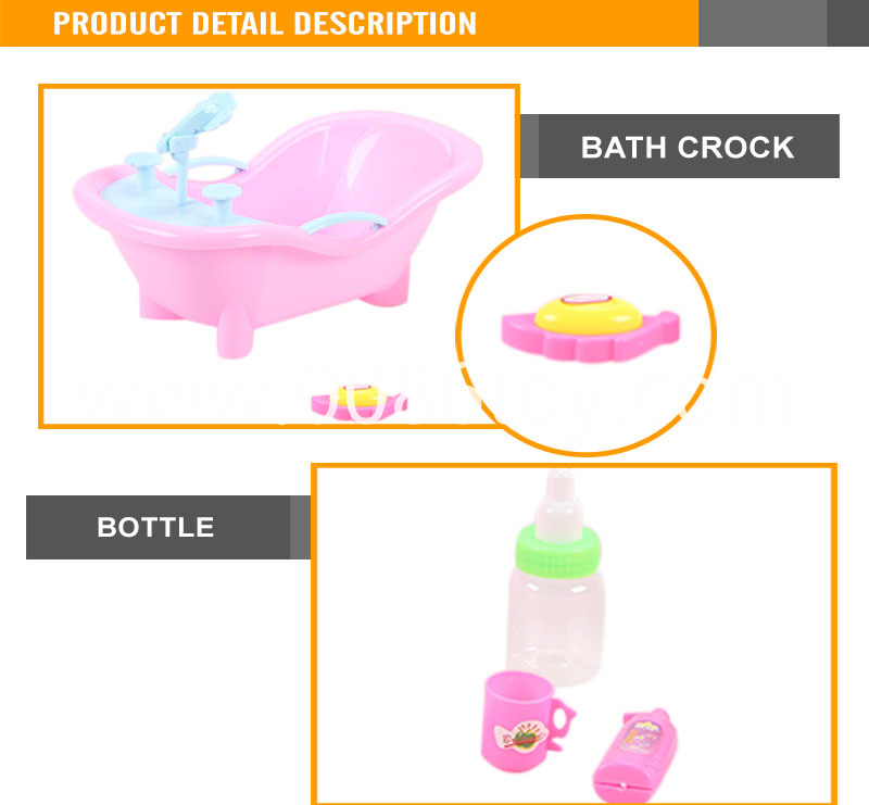 Popular 7 inch small bath doll silicone doll kits1