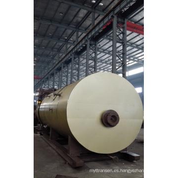Caldera de agua caliente de cojinetes de condensación de aceite para la industria