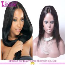 Cheap Brazilian 100% Silk Base Human Hair Wig, Glueless Full Lace Wig With Silk Top