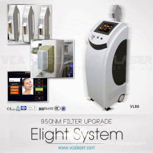 480nm,530nm,560nm,590nm,640nm-950nm IPL hair removal