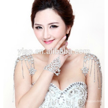 wedding rhinestone bra straps