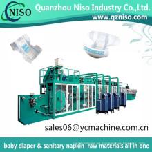 Máquina semiautomática del panal del bebé del pañal Ultra Fit del bebé de noche y de la noche