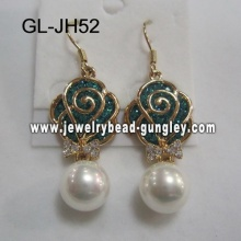 gift shell pearl earrings