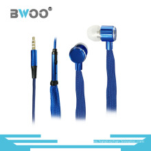 Auriculares manos libres estéreo del auricular del auricular estéreo del cordón de 3.5mm
