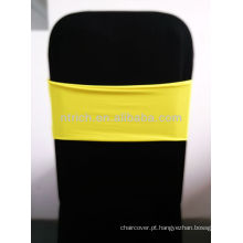 Linda faixa do Spandex, Lycra Sash, amarelo