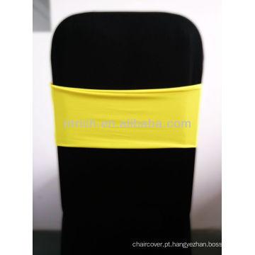 Linda banda do Spandex, Lycra banda, amarelo
