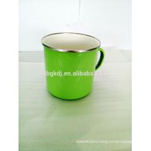 green decals enamel coating water cup