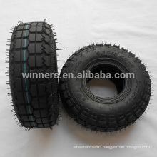 4.10/3.50-4 air rubber tire/scooter tyre