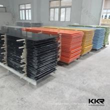 Китайский Marbile плитки твердые поверхностные листы панели стены