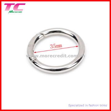 Metal Spring Gate Ring for Handbag