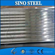 Teja de tejado de acero galvanizado acanalado