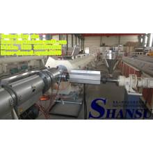 Maquinaria plástica da tubulação do PVC do PE do PE de 75-250mm