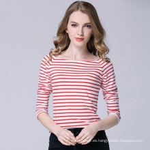 Camiseta Design Factory Strip Long Sleeves de New Design Factory