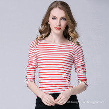New Design Factory Strip Long Sleeves T-Shirt