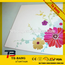 Sublimation sheet material white color coated for car frame and sublimation license