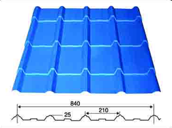 Roofing Sheet Glazed Tile