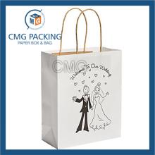 Customized Man Printing Wedding Paper Bag (DM-GPBB-152)