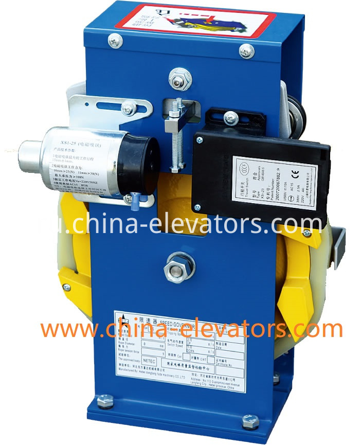 Speed Governor for MRL Elevators ≤1m/s