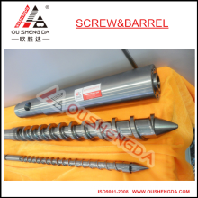 PET plastic injection molding machine nitriding screw barrel