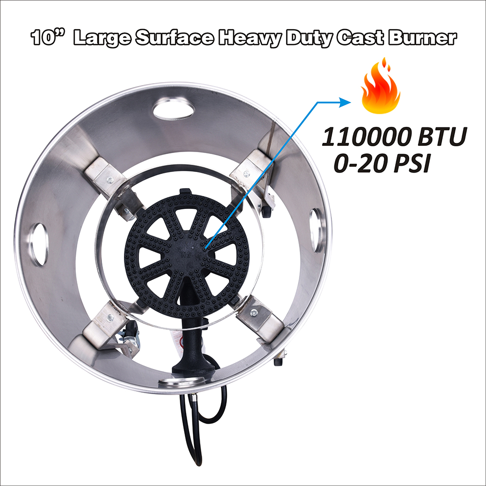 High Pressure Single Gas Burner
