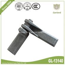 Bisagra del remolque Puerta trasera Puerta lateral abatible con pasador de garfio