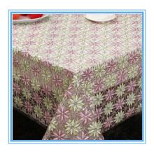 Largeur de tissu brodé de dentelle de PVC Nt 132cm