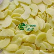 Rebanadas de manzana congelada IQF en alta calidad
