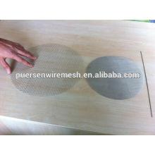 Buena calidad y tela de alambre de acero barata para la industria química por Puersen