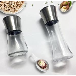 Stainless steel pepper grinder
