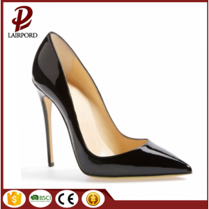 high heel leather real elegant women shoes
