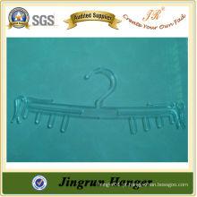 Suporte de sutiã de plástico transparente de alta qualidade da mulher