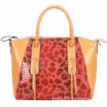 Orange Tote Bag, Novel Design, Various Colors are Available, OEM/ODM and Logo Services are Provided