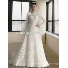 vestido de boda nupcial musulmán vestido de boda musulmán del hijab vestido de boda musulmán nuevo del diseño abaya