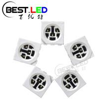 5050 SMD LED Cyan LED 490nm Tres chips