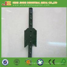 Cheap 0.95lb / FT, 1.25lb / FT, 1.33lb / FT Green Metal T Post