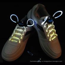 Нейлон освещая ночь шнурки