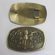 Индивидуальные 3D логотип Античная бронзовая Пряжка